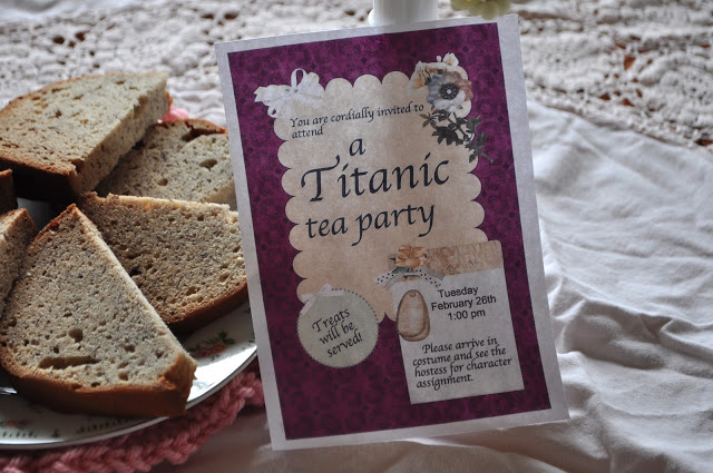Titanic Tea Party
